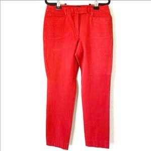 White House Black Market The Slim Trousers Sz 8